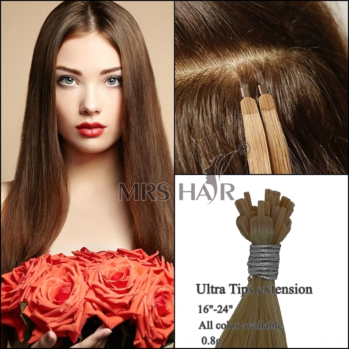 Flat tip fusion hair extensions mrshair velvet cuticle remy in uk this new tip hair extension called ultra tips hair also can be called t tip hair ultra tips are the revolutionary new hair extension system pmusecretfo Images
